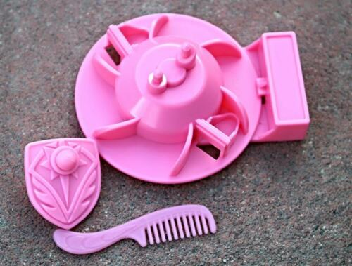 """Size Custom Spinnerella Spinning Stand Shield Comb Made for She Ra 5/"""" Doll Orig"""
