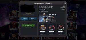 Marvel contest of champions account mcoc 10k+ Prestige
