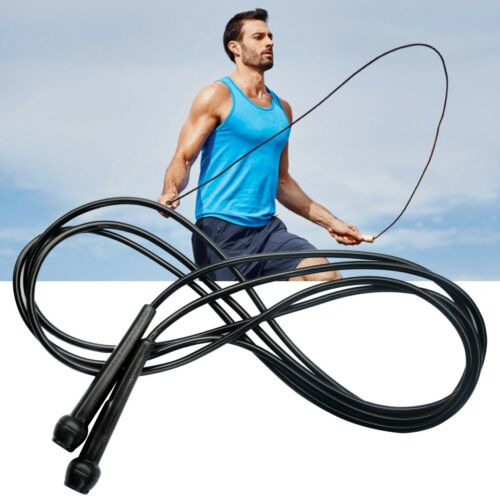 Plastic Speed Skipping Rope Boxing Fitness Jumping Crossfit Lightweight Gym Exer