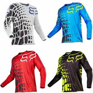 Men-FOX-Riding-Jersey-Long-Sleeve-T-shirts-Motocross-MX-ATV-BMX-MTB-Dirt-Bike