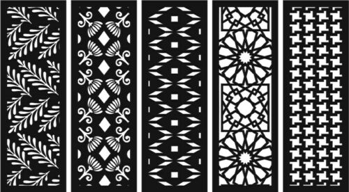 CNC Vector DXF files COLLECTION for CNC ROUTER DXF of PLASMA ROUTER Laser Cut