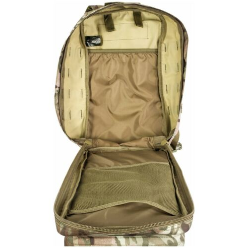 Highlander Recon Pack 28L MOLLE Pro-Force Military Rucksack Army HMTC OLIVE BLK