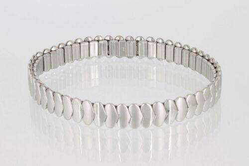 Magnetarmband Cristor Magnetschmuck F5667S Cristor Armband Damen silberf Flex