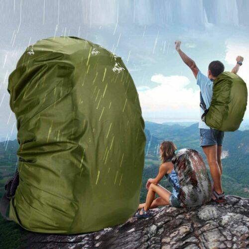 Outdoor Foldable Backpack WaterProof Rain Cover Rucksack Travel Bag 30L 40L