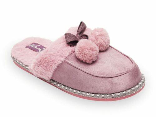 Elegante Parfümierte Hausschuhe Pantoffeln Damen Winter Warm Gefüttert EU WARE