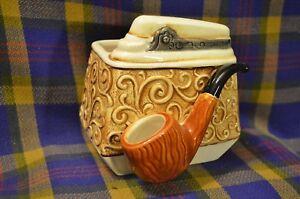 Vintage RELPO #5797 Pottery Pipe Holder/Planter-Unique