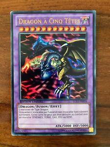 Yu-Gi-Oh Dragon à Cinq Têtes BLHR-FR000 1st Secret Rare