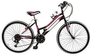 Dettagli Su Bicicletta Mtb Galant Ly24 Lincy 24 Ragazza 24 Acciaio Shimano 18v Fuxia