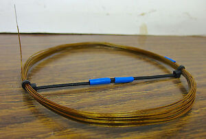 25-feet-30-AWG-Silver-PTFE-polyimide-film-Wire-Amber-Solid-very-high-quality-SPC