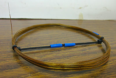 25 ft 30 Awg Mil spec Kynar Silver Plated wire Wrap Solid  M81822//3 B30 Brown