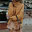 Turtle-Neck-Baggy-Tops-Chunky-Knitted-Oversized-Jumper-Sweater-Women-039-s-Winter thumbnail 14