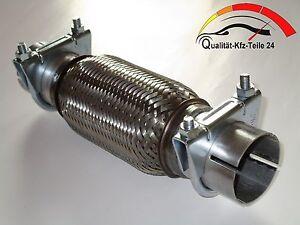 mm Auspuff Flexrohr Hosenrohr Katalysator Ø 40 x 250 Länge