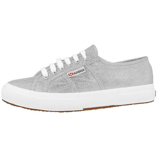 Superga Lame Silver W Silver Lame 2750lamesilver Argento Sneakers alte Eur36.0 ... cc199c