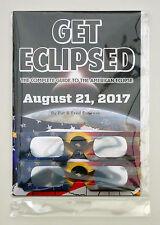 Get Eclipsed Solar Eclipse Guide Book 21 Aug 2017 USA +2 Glasses - Fred Espenak