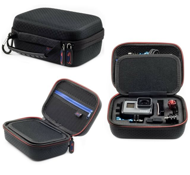 Digicharge Carry Case For GoPro Hero 7 6 5 4 3+ 3 Action Cam Go Pro HD X Small
