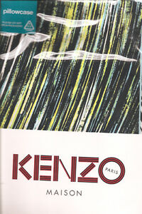 KENZO Paris Highwave Glacier Taie 100 Cotton Sateen 2 Pillowcases BNIP - Greenock, Renfrewshire, United Kingdom - KENZO Paris Highwave Glacier Taie 100 Cotton Sateen 2 Pillowcases BNIP - Greenock, Renfrewshire, United Kingdom