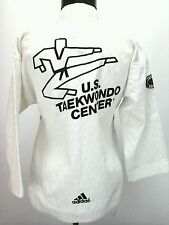 ADIDAS Taekwondo Top Shirt Size 0 140 cm Made in Korea WTF ITF USTU Uniform