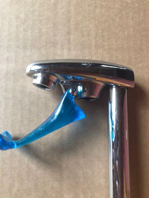 T&S Brass B-1210 Deck Mount Pedestal Glass Filler- Chrome - 1/2