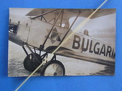 Transport Bilder & Fotos Foto Flugzeug Oldtimer Werbeflugzeug Bulgaria Zigaretten 20er/30er Jahre To Assure Years Of Trouble-Free Service