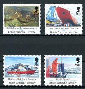Brit-Antarktis-Gebiete-MiNr-185-88-postfrisch-MNH-Forschungsschiff-ARK35