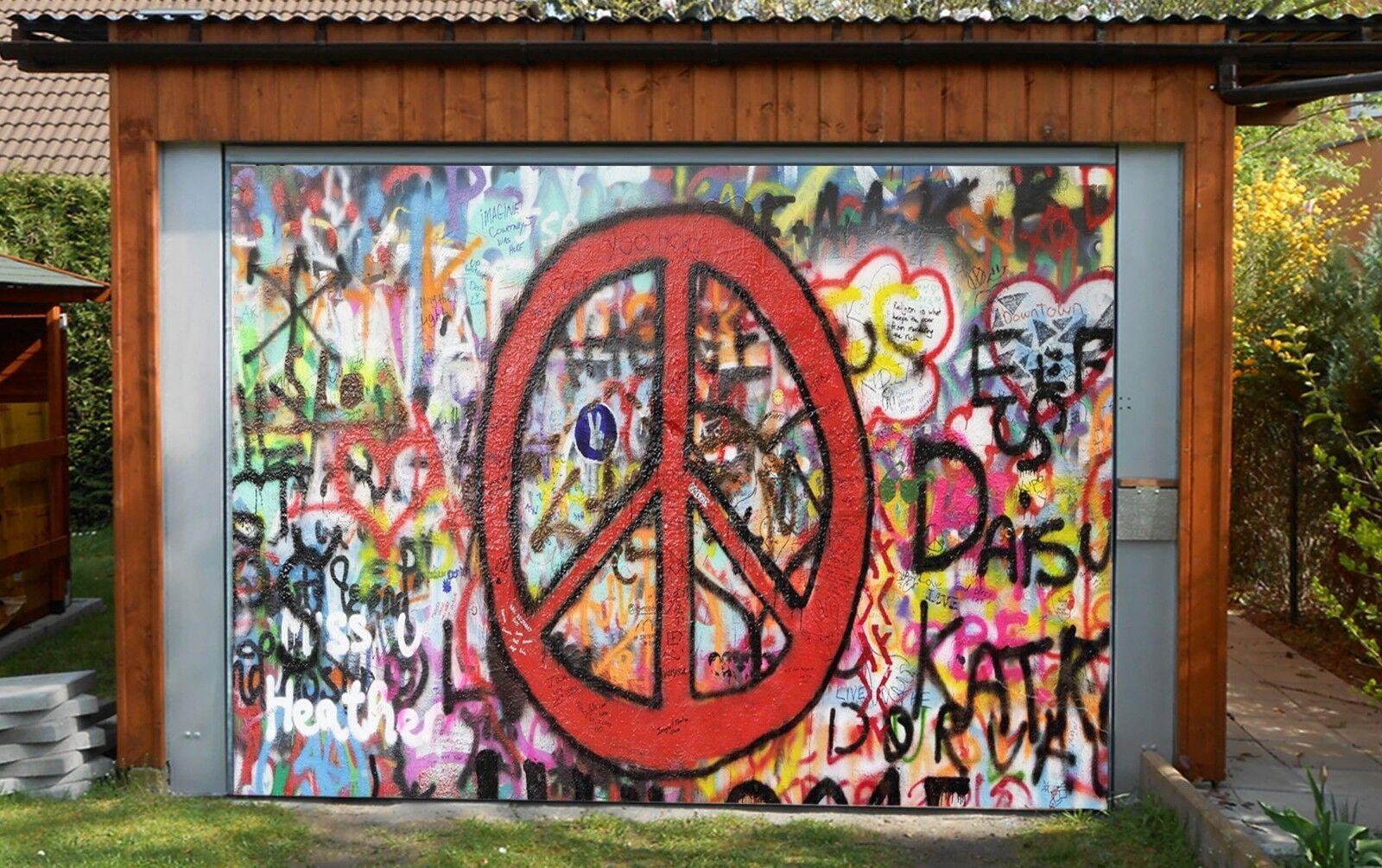 3D Graffiti  233 Garage Door Murals Wall Print Decal Wall Deco AJ WALLPAPER AU