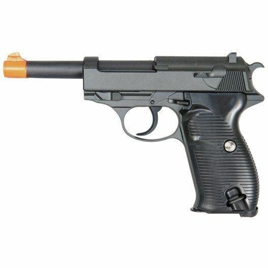 Returned Uk Arms Metal G21b Spring Powered Airsoft Pistol Bb Gun Black For Sale Online Ebay