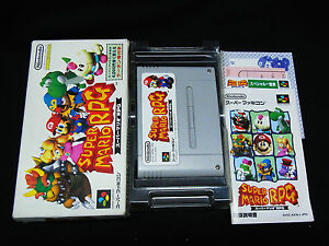 nintendo super famicom sfc game snes japan import super mario rpg