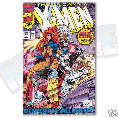 Uncanny X-men #281 VF//NM Death of Hellions Marvel Comics Xmen