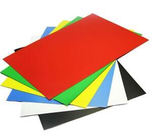 1PCS-colour-Rubber-Magnet-Self-Adhesive-Flexible-Magnetic-Sheet-A4-Size-0-6mm