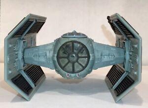 Star Wars Micro Machines Darth Vader Tie Fighter Action Fleet 1996 Battle Damage