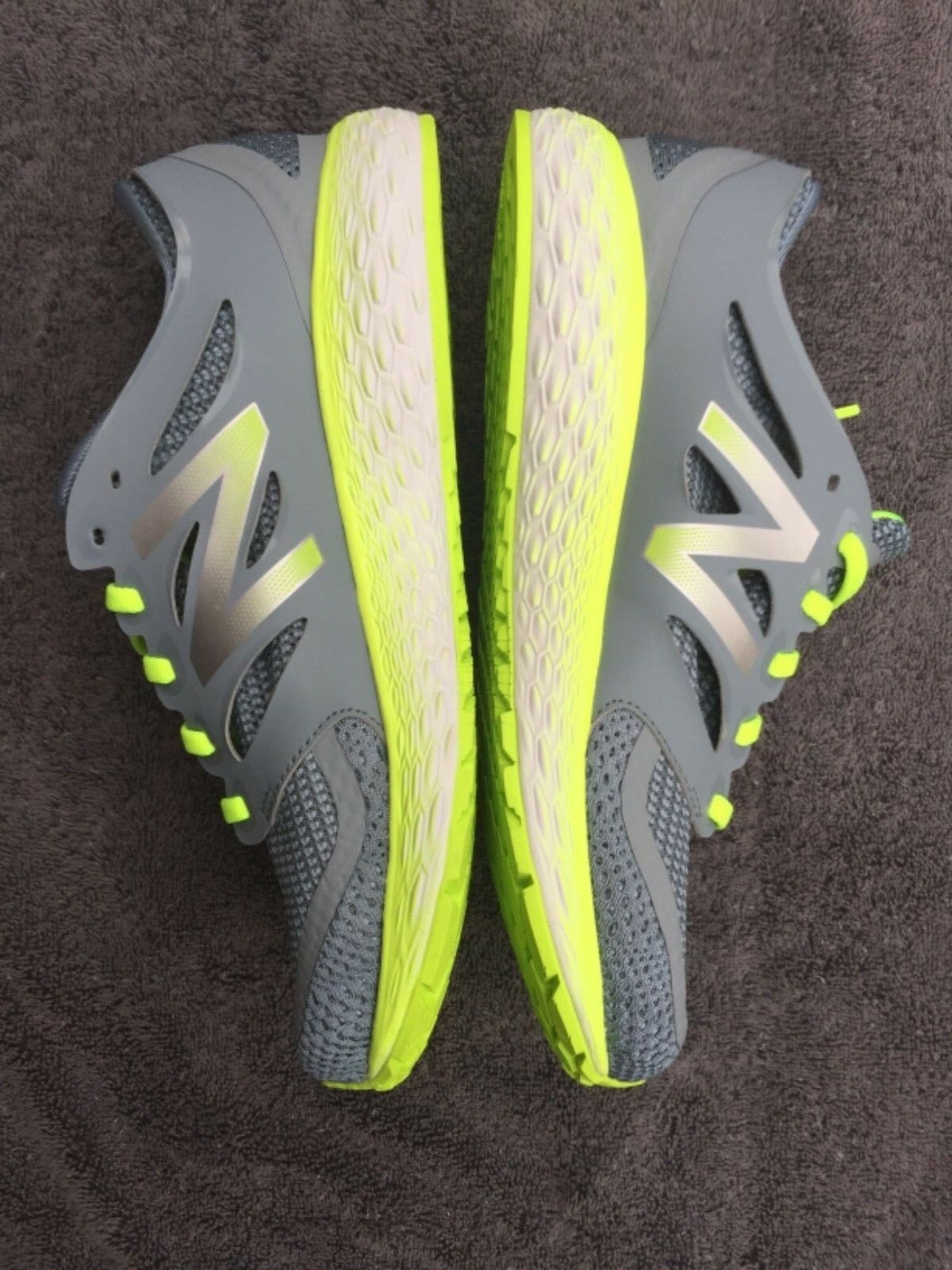 Details about New Balance Fresh Foam Boracay 2 MBORAGG2 Running Shoe Grey Green Mens size 7
