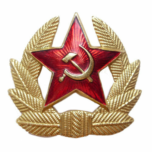 Brand New With Badge Russian Winters Grey Chapka Ushanka