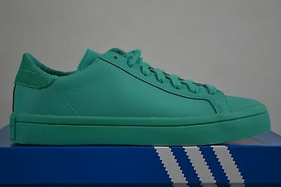 Adidas court Vantage Adicolor Schuhe shoe Sneakers shoes green
