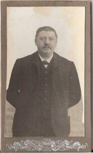 CDV Foto Feiner Herr - Frankreich um 1910 - Winsen Luhe, Deutschland - CDV Foto Feiner Herr - Frankreich um 1910 - Winsen Luhe, Deutschland