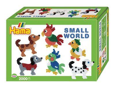 Perlen Bügelperlen 2019 Neuestes Design Hama 3506-2000 Perlen Kleine Welt Haustiere Bügelperlen Kreativ Basteln Neu New Weniger Teuer