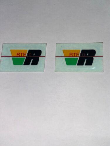 DECAL ORIGINAL REYNOLDS RTF10 FORK pair