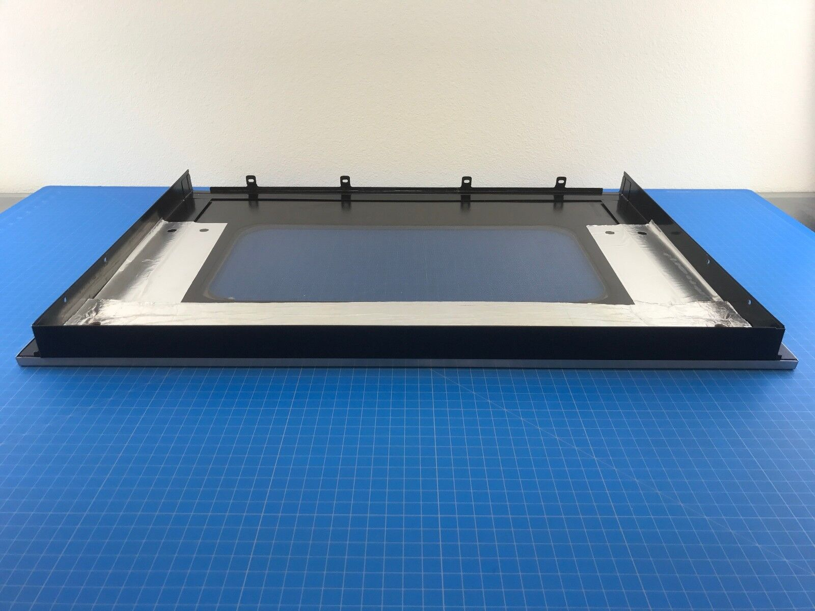 GE Wall Oven Outer Door Glass White WB57T10160