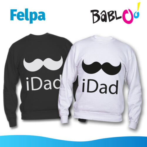 "Felpa Idea Regalo Festa del Papà /""iDad/"""