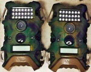 2608-Qty-2-Used-WildGame-Innovations-Terra-8-MP-Game-Trail-Camera-TR8i34W