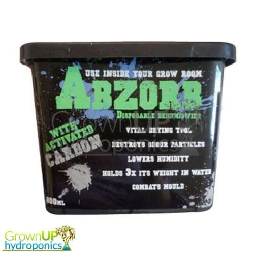 Abzorb Disposable Dehumidifier Hanger or Tub Remove Excess Water and Humidit
