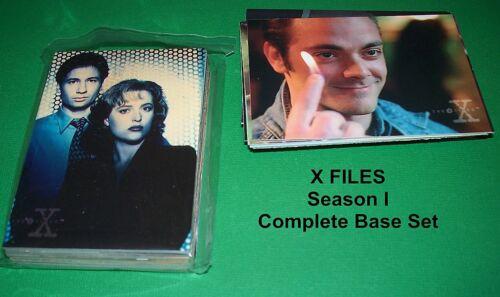 X FILES Season I  COMPLETE BASE SET