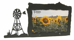 Windmill-Picture-Frame-4-034-x6-034-H-Farm-Ranch-Wind-Mill