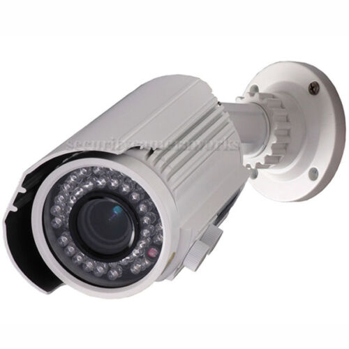 2 Security Camera Outdoor CCTV 700TVL IR Night Vision Video Varifocal CCD btx