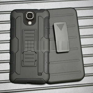 Hybrid-Armor-Rugged-Stand-Hard-Case-Cover-amp-Holster-For-Samsung-Galaxy-Mega-2-G750