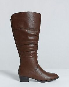 e852e63a1d0 Lane Bryant Slouch Riding Boot Extra Wide Calf Wide Width Plus 12W ...