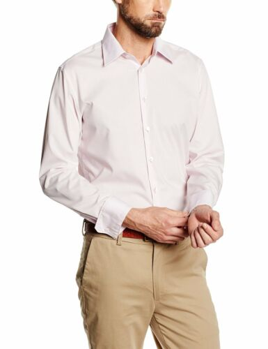 Seidensticker Herren Langarm Hemd UNO SUPER SLIM Stretch Classic rosa 573666.41