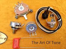 telecaster wiring kit cts oak grigsby switchcraft ebay rh ebay com