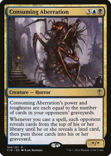 Consuming Aberration Commander 2016 NM Blue Black Rare MAGIC MTG CARD ABUGames