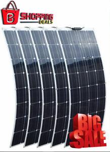 Célula de panel solar de 400 vatios Flexible Casa Camping Coche Yate 12-24v Monocristalino