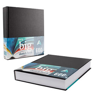600 pages Art Alternatives Sketches in the Making Hardcover Sketchbook Giant Big